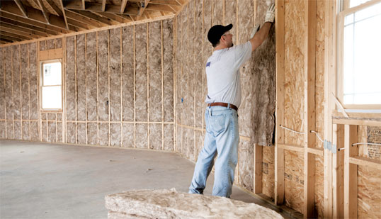 Kasedrywall home for Best insulation for new home construction